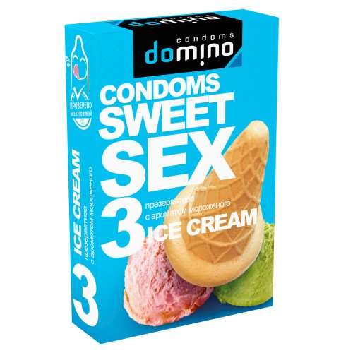 Презервативы Domino Sweet Sex Ice cream