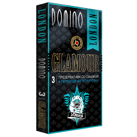 Презервативы Domino Glamour London + Тату